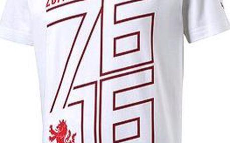 Puma Czech republic 76 Fan Shirt white chili XL