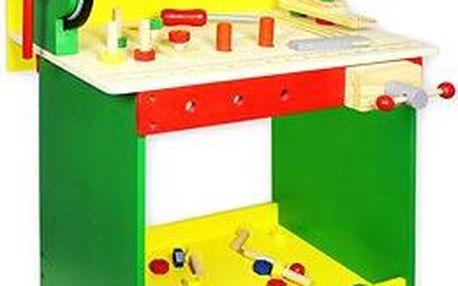 Dřevěný pracovní ponk - 8594166097315