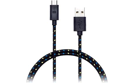 CONNECT IT Wirez Premium Micro USB 1m černý