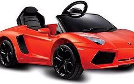 Elektrické auto Aventador červené