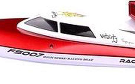 RC loď 350 červená