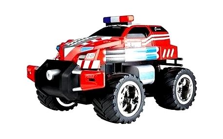 RC auto Carrera - Fire Fighter stříká vodu