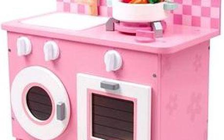 Dřevěná dětská kuchyňka