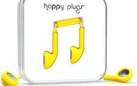 Happy Plugs Earbud Yellow