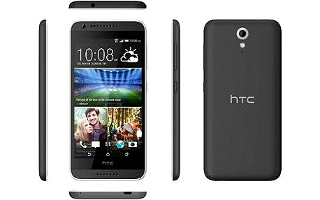 HTC Desire 620G (A31MG) Matt Grey / Light Grey Trim Dual SIM