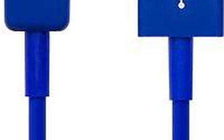 CONNECT IT Colorz Micro USB 1m modrý