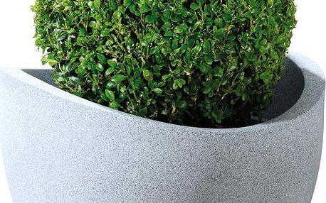 Venkovní květináč Globe 50 cm, světlý - doprava zdarma!