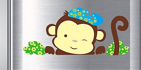 Roztomilý opičák 33 x 22 cm