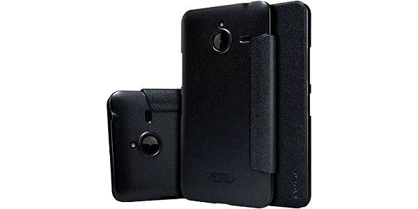 NILLKIN Sparkle Folio pro Nokia Lumia 640 XL černé