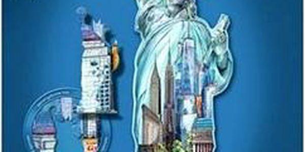 Tvarové Puzzle - Socha Svobody, New York