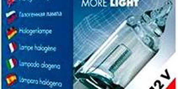 TESLA Žárovka H1, 12V, 55 W, P 14,5 s +50%