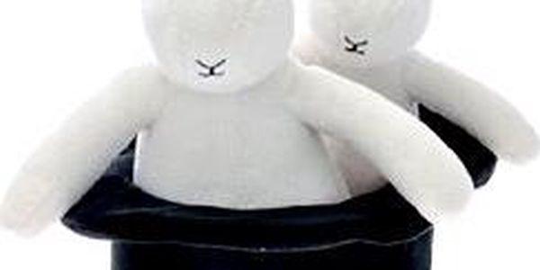 Bob a Bobek - Plyšové figurky s kloboukem