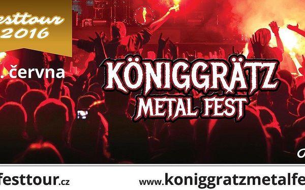 Lupen na metalový festival Königgrätz Metal Fest
