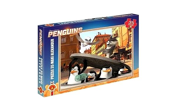 Tučňáci z Madagaskaru - Maxi puzzle