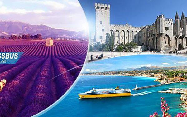 Kouzelná Provence: 5denní poznávací zájezd do Francie pro 1 osobu včetně dopravy z Prahy i Brna a 2x ubytování