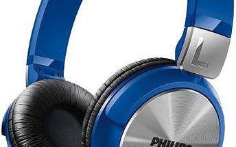 Sluchátka Philips SHL3160BL (SHL3160BL) modrá + Doprava zdarma