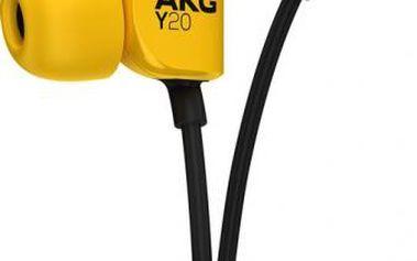 Sluchátka AKG Y20U (6925281900204) žlutá