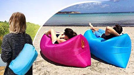 Air Bag RIWA, nafukovací pohovka během pár vteřin až pro 2 osoby! Pohodlné sedadlo pro venkovní i vnitřní použití.