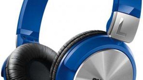 Sluchátka Philips SHL3160BL (SHL3160BL) modrá