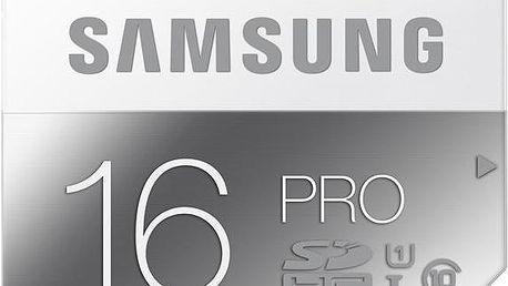 Samsung SDHC PRO 16GB Class 10 UHS-I - MB-SG16D/EU