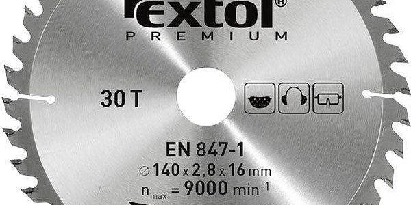 Extol Premium (8803242) kotouč pilový s SK plátky, 250x2,2x30mm, 60T