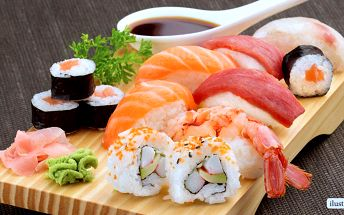 Fantastické sushi sety v Sushi Miomi