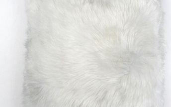 Kožešinový polštář Ivory, 50x50 cm - doprava zdarma!
