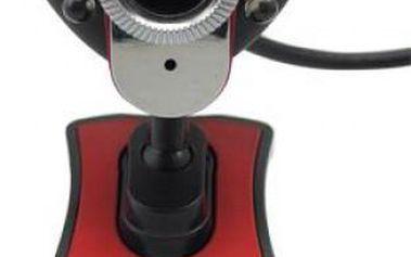 Webkamera s nočním viděním, mikrofonem a klipem pro přichycení