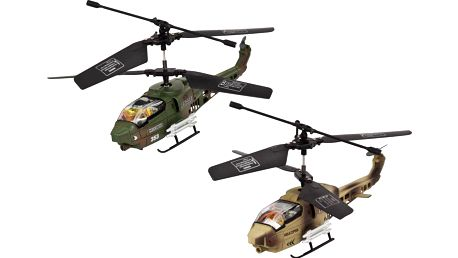 Buddy Toys Vnitřní tříkanálové 17 cm vrtulníky BRH 317F10 - II. jakost