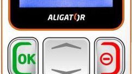 Mobilní telefon Aligator A320, bílý + 200 Kč za registraci + dodatečná sleva 35 %