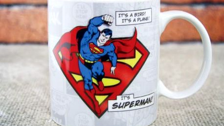 Hrnek Superhrdina z komiksu