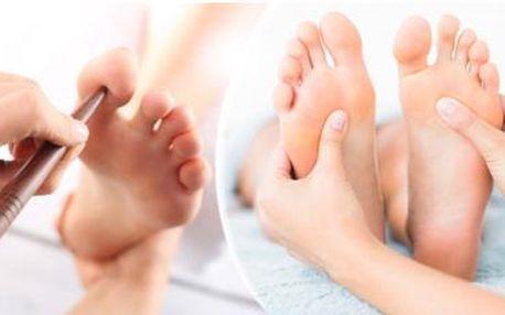 60min. reflexní terapie plosek nohou. Odstraňuje stres, bolesti a zlepšuje činnost orgánů. Vhodná pro všechny.