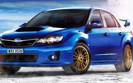 Rallye jízda v Subaru Impreza WRX vč. paliva