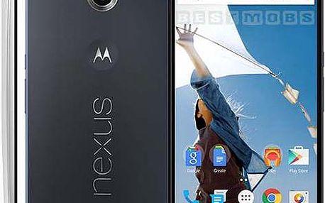 Smartphone Motorola Nexus 6, modrý + 200 Kč za registraci + dodatečná sleva 35 %