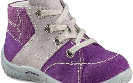 Richter Dívčí fialové kotníčkové boty 0421 521 7301 velké