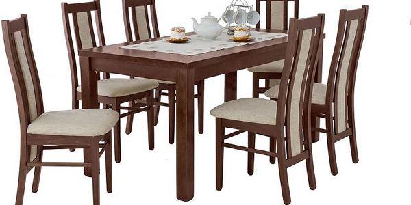 Jídelní stůl EMAN 160x90 (+43) ořech