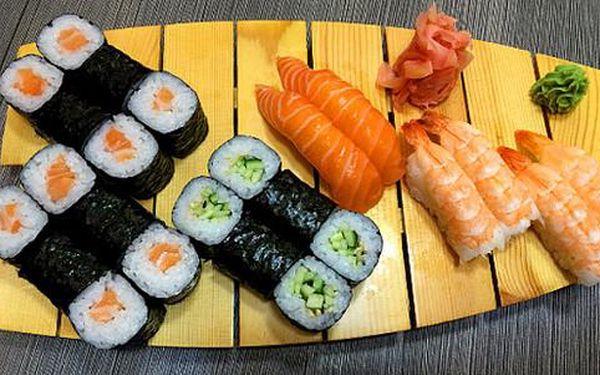 Až 50% sleva na sushi sety v restauraci Jiu Zhou