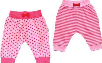 Gelati Dívčí polodupačky, 2 ks - růžové