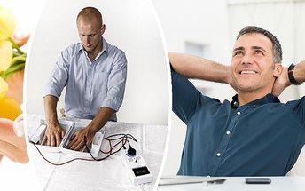 Revoluce v léčbě nadměrného pocení.Vyzkoušejte Electro antiperspirant - jedničku na trhu v boji s pocením. Potvrzená účinnost a snášenlivost u 100% pacientů. Pokud pocení rukou, nohou či podpaží trápí Vás nebo Vaše okolí, iontoforéza Electro Antiperspira