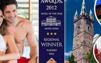 Wellness pobyt pro dvě osoby s polopenzí ve Wellness hotelu Central***. Vstup do bazénu a sauny!