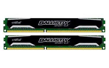 Crucial 8GB KIT DDR3 1600MHz CL9 Ballistix Sport VLP