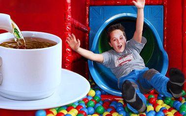 Vstup do zábavního centra Koala Café + nápoj