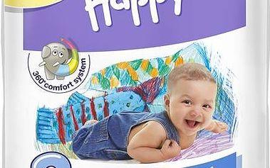 Plenky Bella Baby Happy Midi Big Pack 72 ks Ubrousky čistící Bella Baby Happy hedvábí a bavlna 64 ks (zdarma)