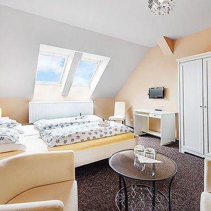 3 až 6denní pobyt pro 2 s polopenzí v penzionu Villa Sole nedaleko Brna
