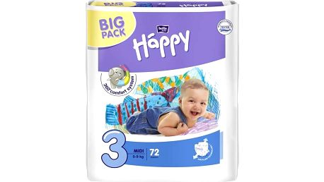 Plenky Bella Baby Happy Midi Big Pack 72 ks Svačinový box Bella Baby Happy (zdarma)