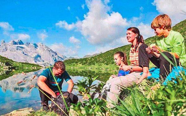 Léto v Rakouských Alpách pro dva i pro rodinu