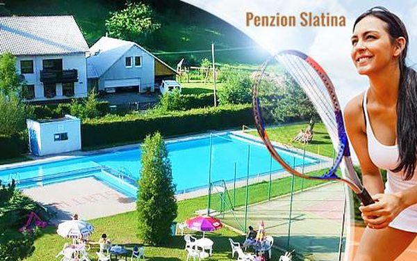 Letní Jeseníky - Ramzová, Petříkov na 3 až 8 dní pro 2 osoby: polopenze, tenis, bazén neomezeně a slevy!