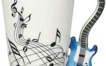 Kytarový hrnek - modrá