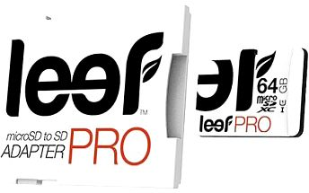Leef micro SDXC Pro 64GB class 10 UHS-I