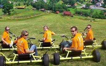 Rodinná aktivní a adrenalinová dovolená